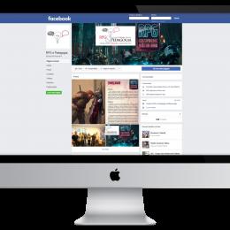 RPG E Pedagogia - Nova Marca, Planejamento e Criação para Facebook