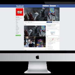 TDMonster - Criação para Facebook