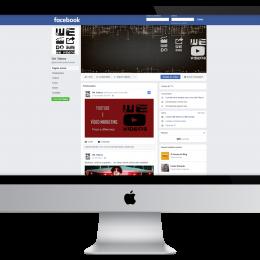 We Videos - Nova Marca, Planejamento e Criação para Facebook