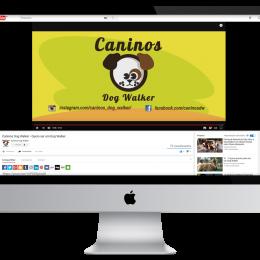 Caninos Dog Walker - Criação para Vídeo Comercial
